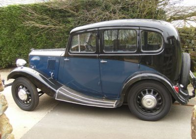 1938 Morris 8 Series II (4 door)