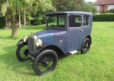 1929 Austin 7 Mulliner Saloon