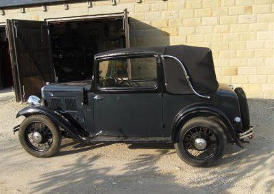 1934 Austin 10 Cabriolet