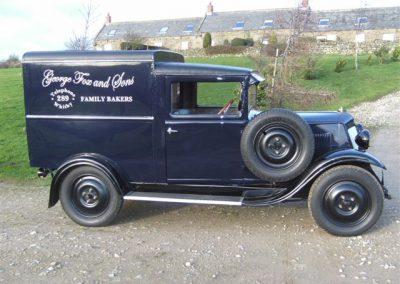1930 Renault Z Van