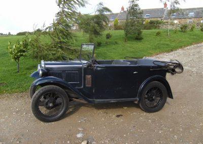 1933 Austin 7 AJ Tourer