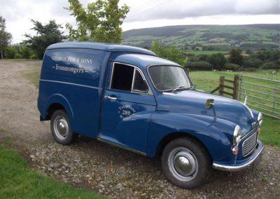1972 Morris Minor Van