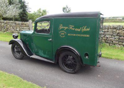 1938 Austin 7 Ruby Van