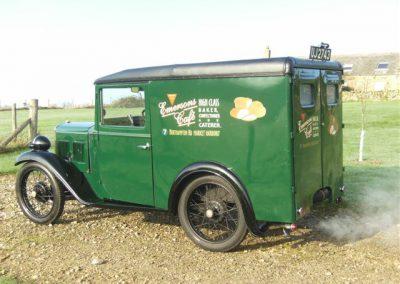 1934 Austin 7 Box Van
