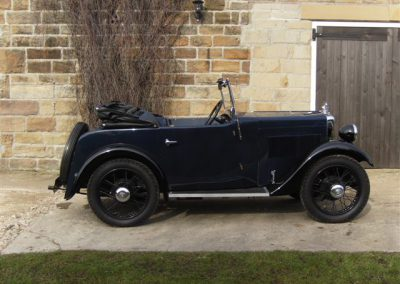 1931 Morris Minor 2 Seater Tourer