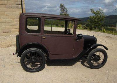 1926 Austin 7 Fabric Saloon