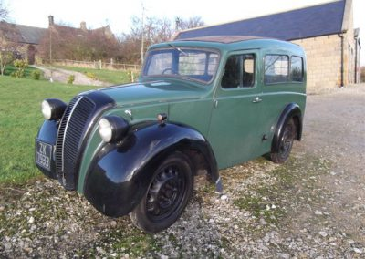 1951 Morris Z Van