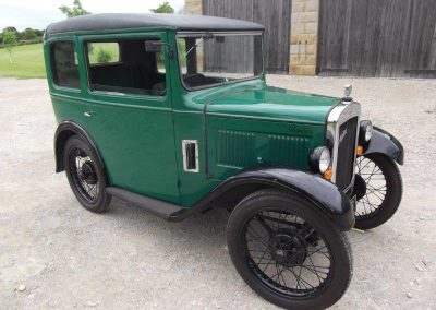 1931 Austin 7 RL Box Saloon (SWB)