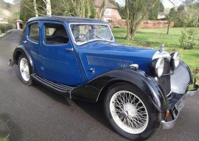 1935 Riley 9 Kestrel
