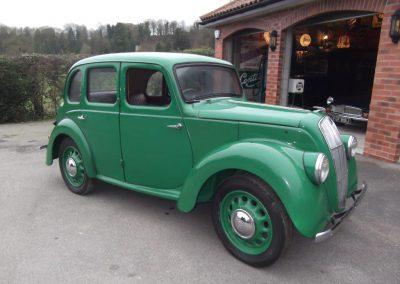 1947 Morris 8 E Series (4 door)