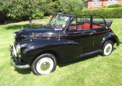 1956 Morris Minor Series II Convertible