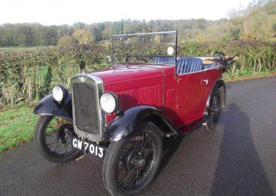 1932 Austin 7 AG Tourer