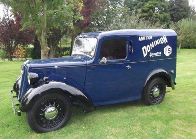 1938 Austin Big Seven Van