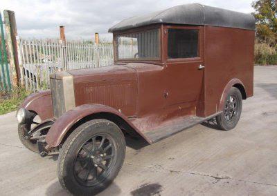 1930s Morris Flatnose Van