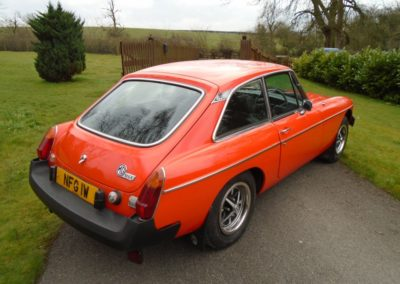 1981 MGB GT with Overdrive