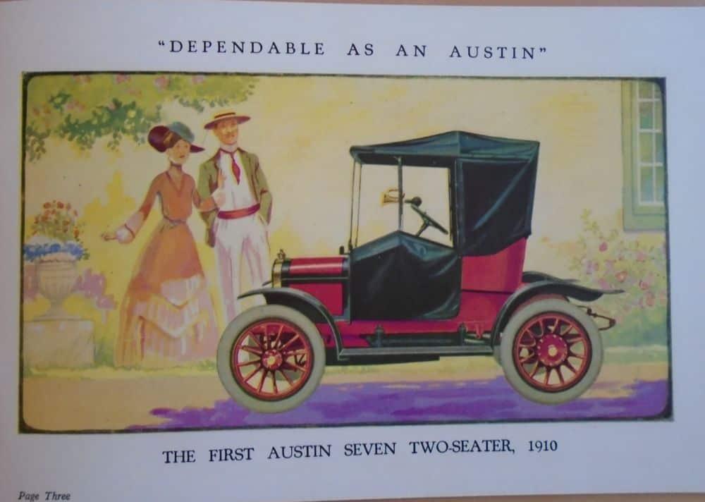 Austin Seven Brochure