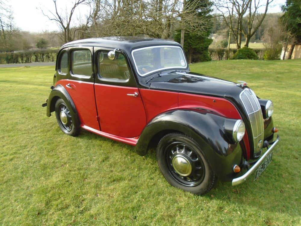 1947 Morris 8 Series E with Sunroof | The Vintage Petrol Pump Garage