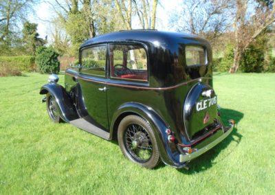 1936 Austin Seven Ruby Mark I
