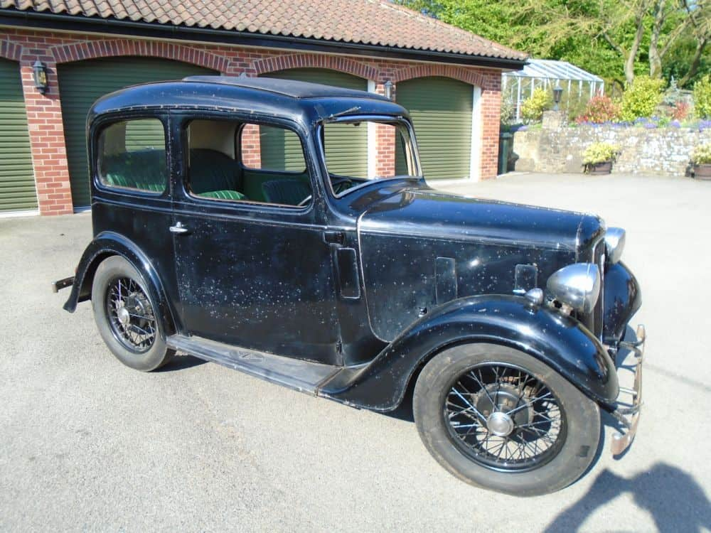 1937 Austin Seven Ruby Mark II