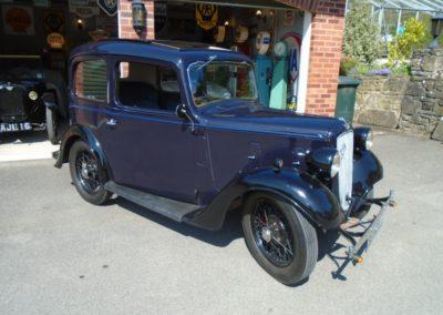 1938 Austin Seven Ruby de-Luxe Mark II