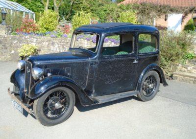 1937 Austin Seven Ruby Mark II