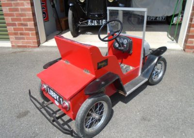 Children's Vintage-style electric toy car