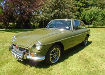 1974 MGB GT with Overdrive