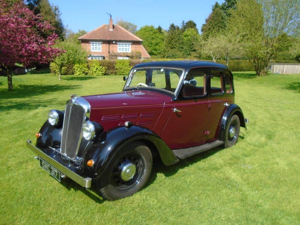 1937 Morris 10/4 Series II Saloon