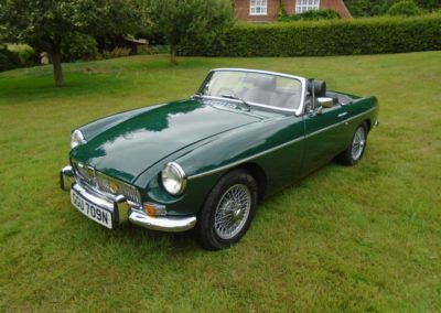 1974 MGB Roadster with Overdrive