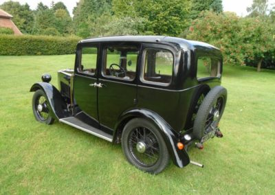 Morris Minor Four Seater Saloon 1934