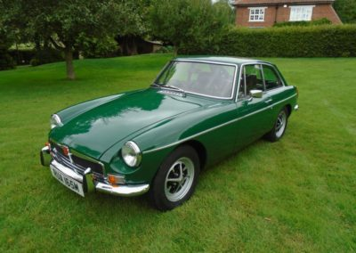1973 MGB GT with Overdrive