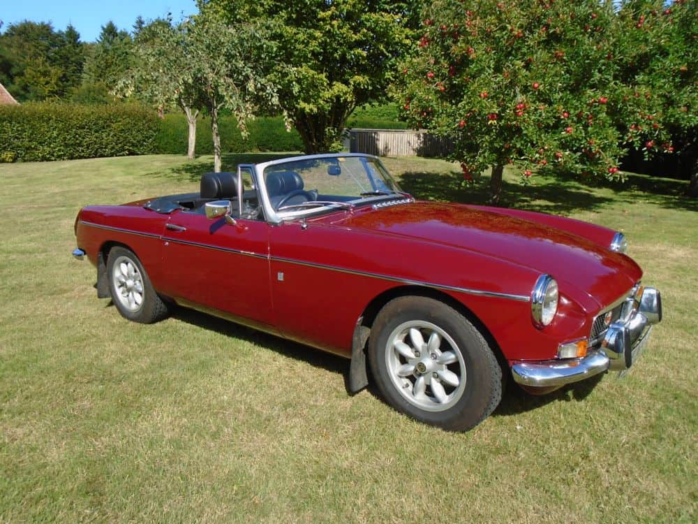 MGB Roadster with Overdrive 1974