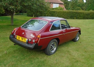 MGB GT with Overdrive 1978