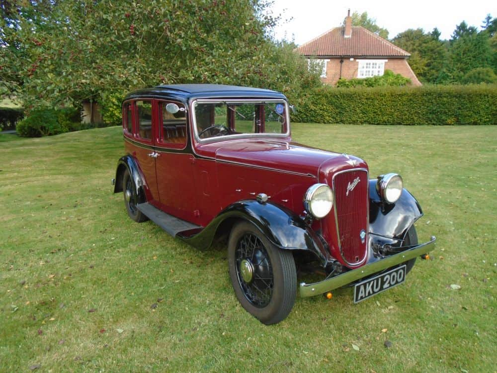 Austin Ascot Light 12/4 Saloon 1935