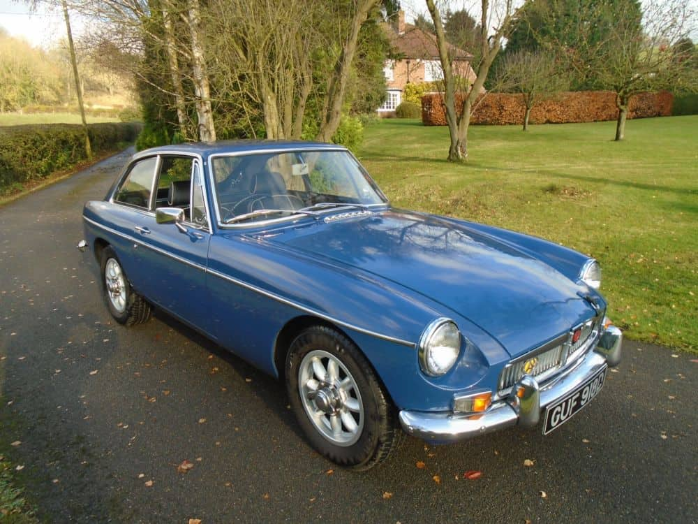 MGB GT with Overdrive 1965