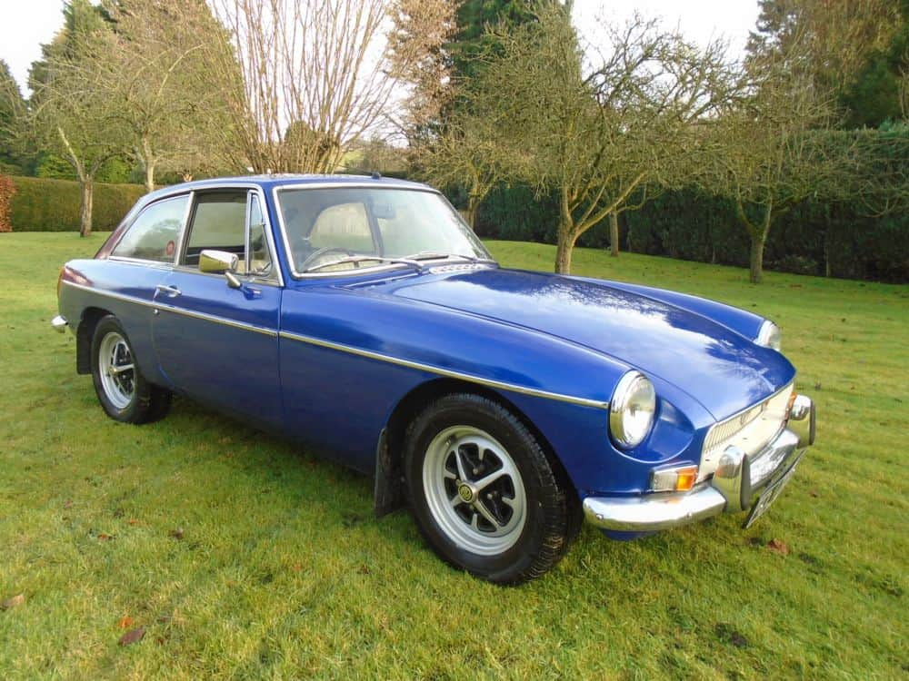 MGB GT with Overdrive 1972