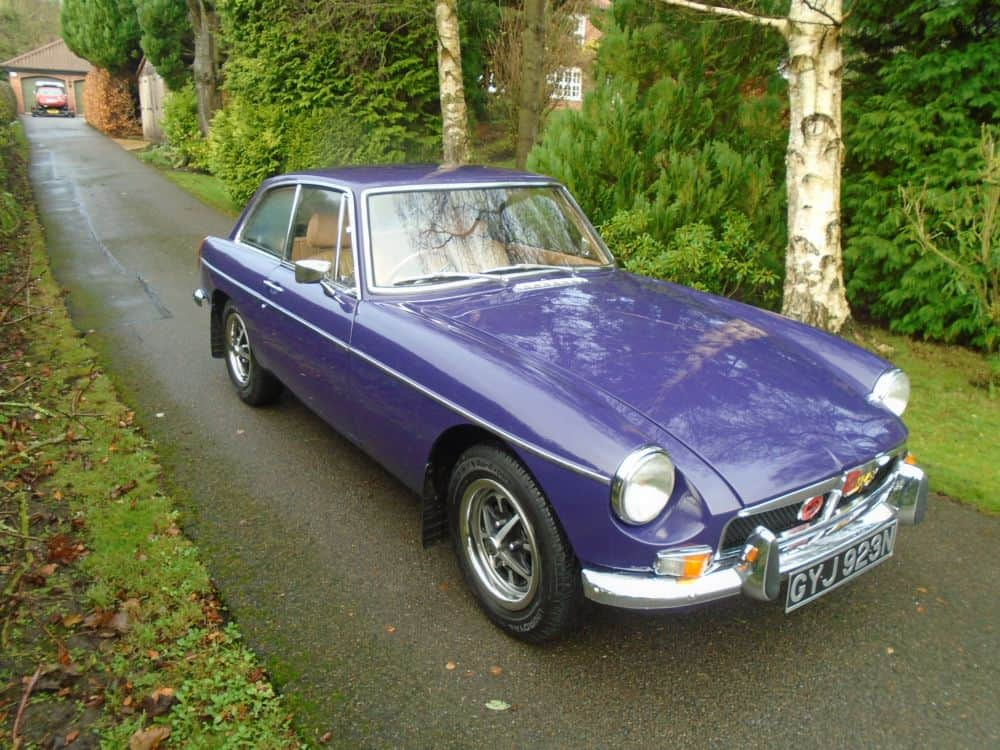 MGB GT with Overdrive 1974