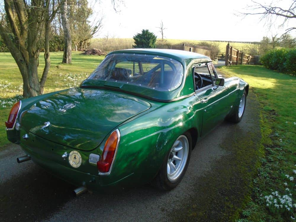 MGB V8 Sebring Style Race Car | The Vintage Petrol Pump Garage