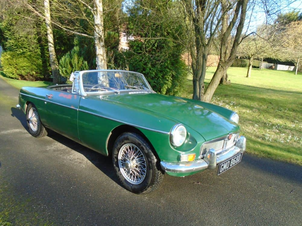 MGB Roadster with Overdrive 1965 | The Vintage Petrol Pump