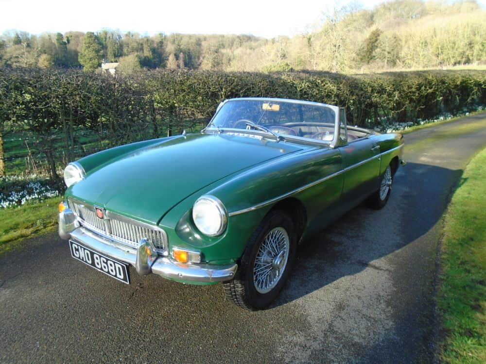 MGB Roadster with Overdrive - 1965