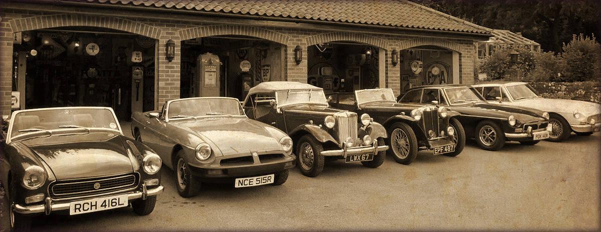 vintage petrol pump company