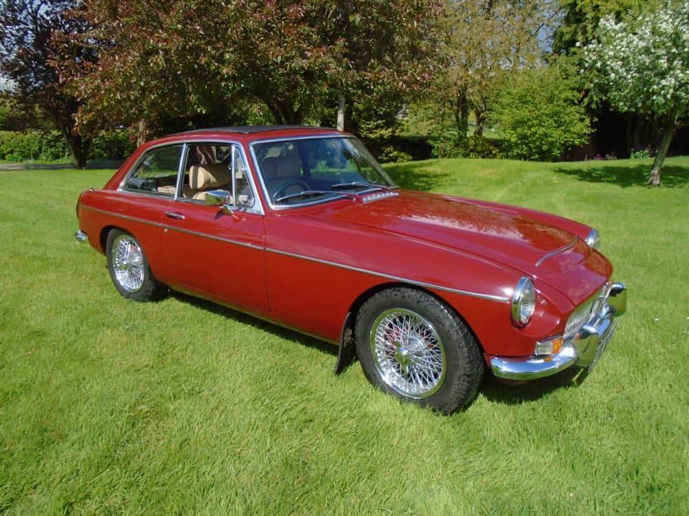 MGC GT with Overdrive 1969