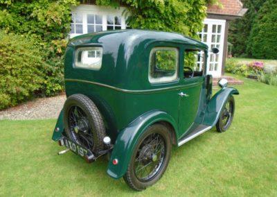 Austin Seven RP Box Saloon 1934