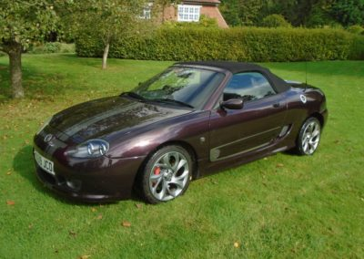 MG TF 85th Anniversary Edition - 2009