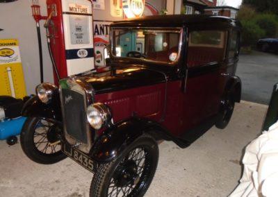 Austin Seven RP Box Saloon 1933