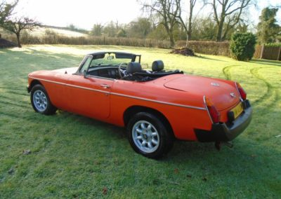 MGB Roadster with Overdrive 1980