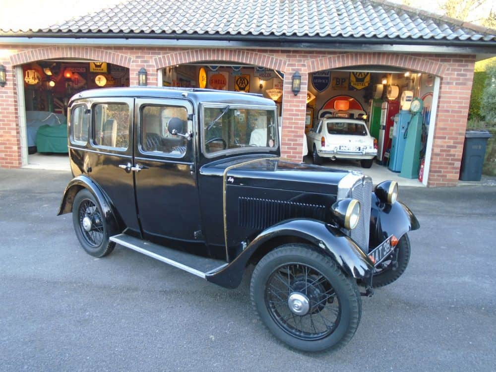 Morris Minor 4 Door 4 Seater Saloon 1934