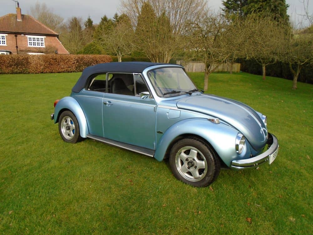 VW Beetle Convertible 4 Seater 1973