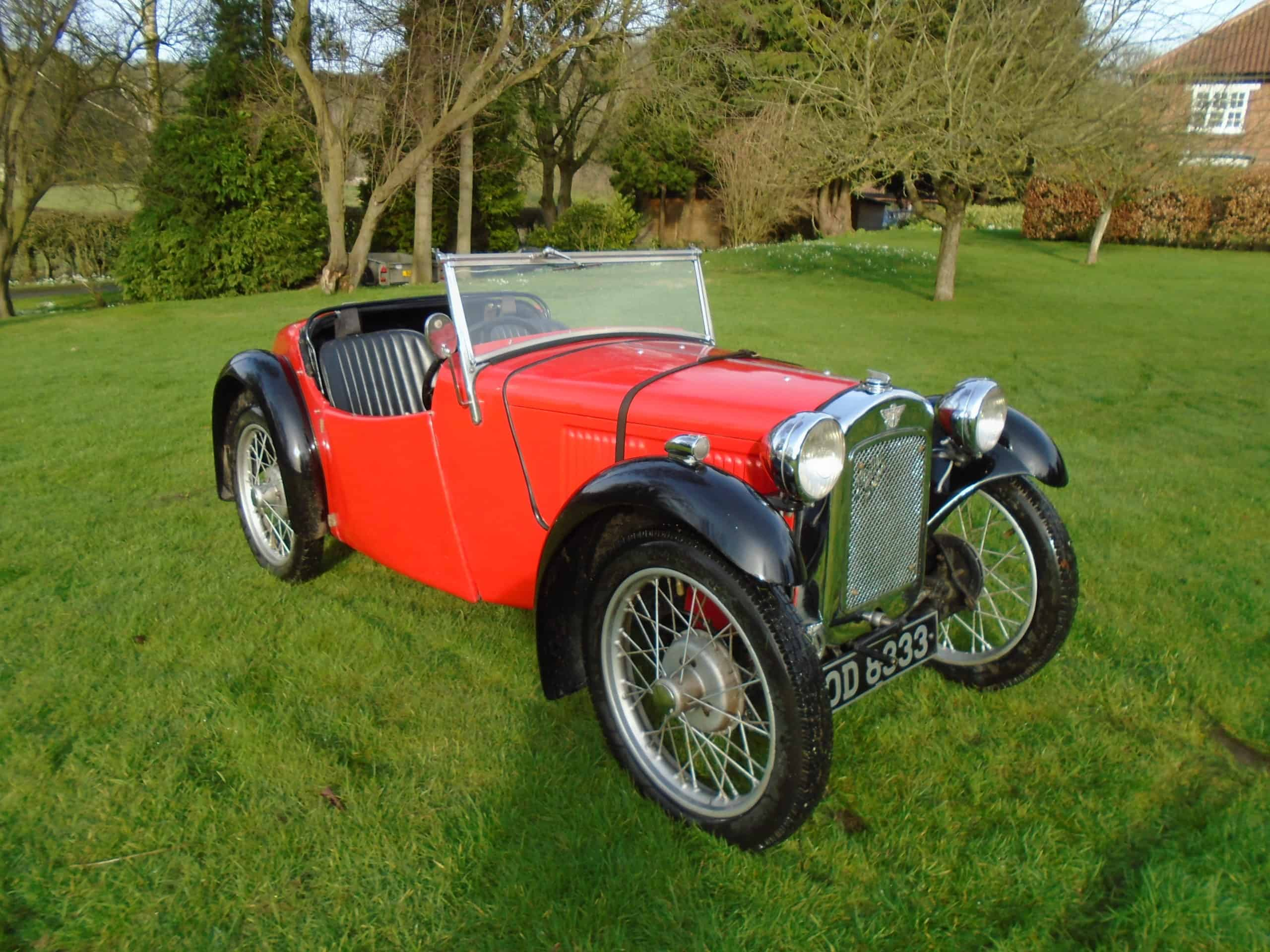 Austin Seven 'Type 65' EB 1934