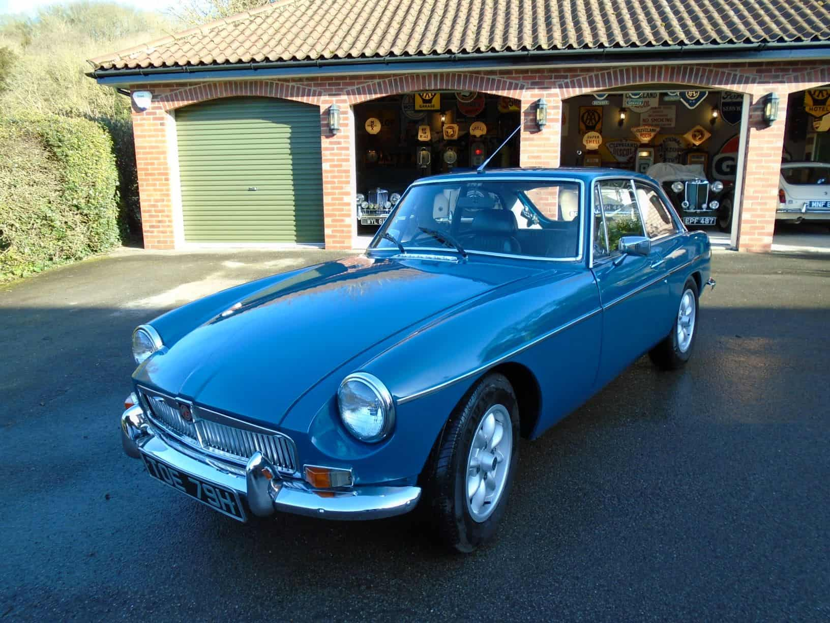 MGB GT with Overdrive 1970